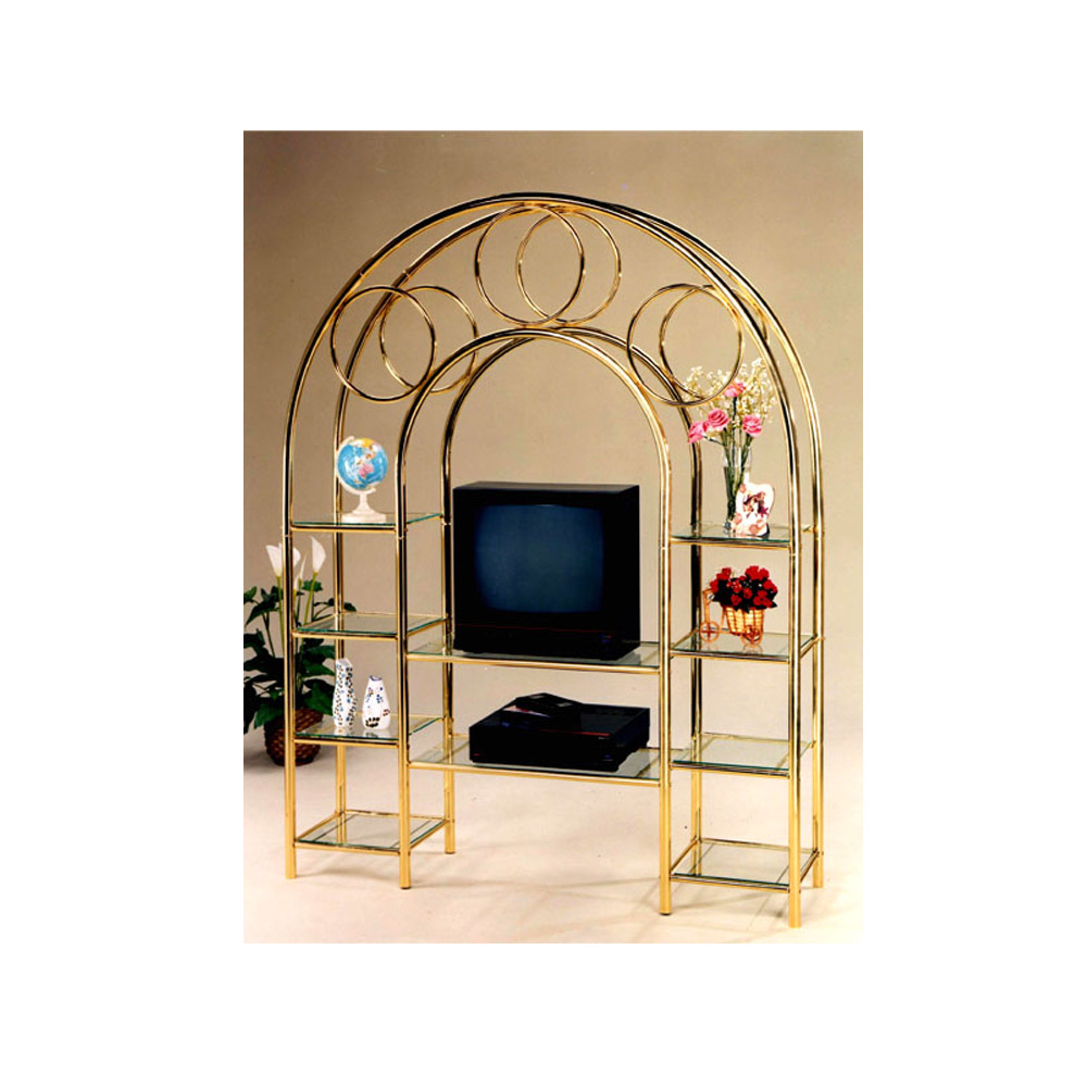 metal frame tv stand, metal tv console, modern tv stand