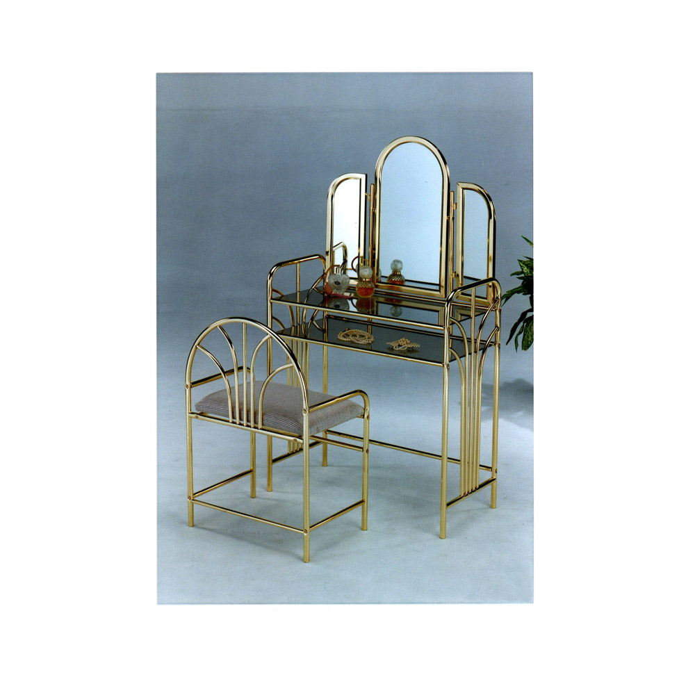 Vanity Furniture Set, Glass Makeup Table, Antique Makeup Table