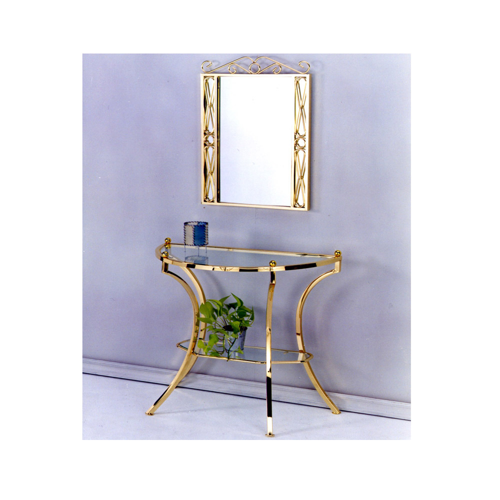 mirrored console table, custom furniture manufacturers