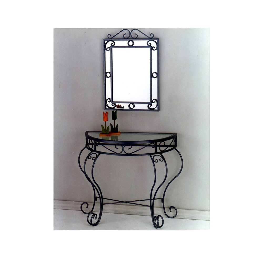 console and mirror set, custom furniture supplier
