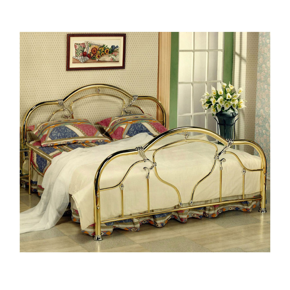 metal bed frame, double iron bed frame, bedroom furniture supplier