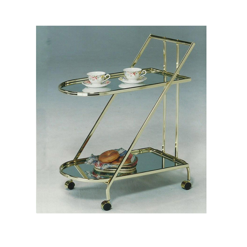 Glass Bar Cart, Glass Service Cart, Glass Furniture Suppliers