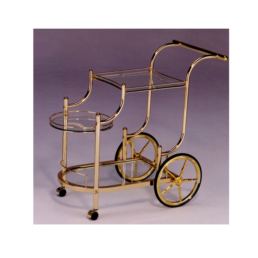 Brass Tea Trolley, Brass Bar Cart|CH Modern Furniture Suppliers